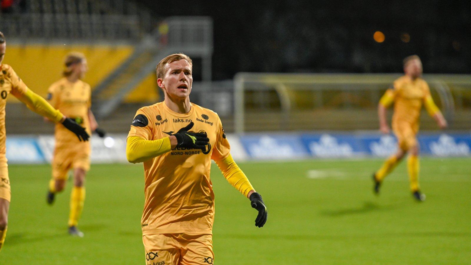 Morten Konradsen. Kampen mot Rosenborg 2019.