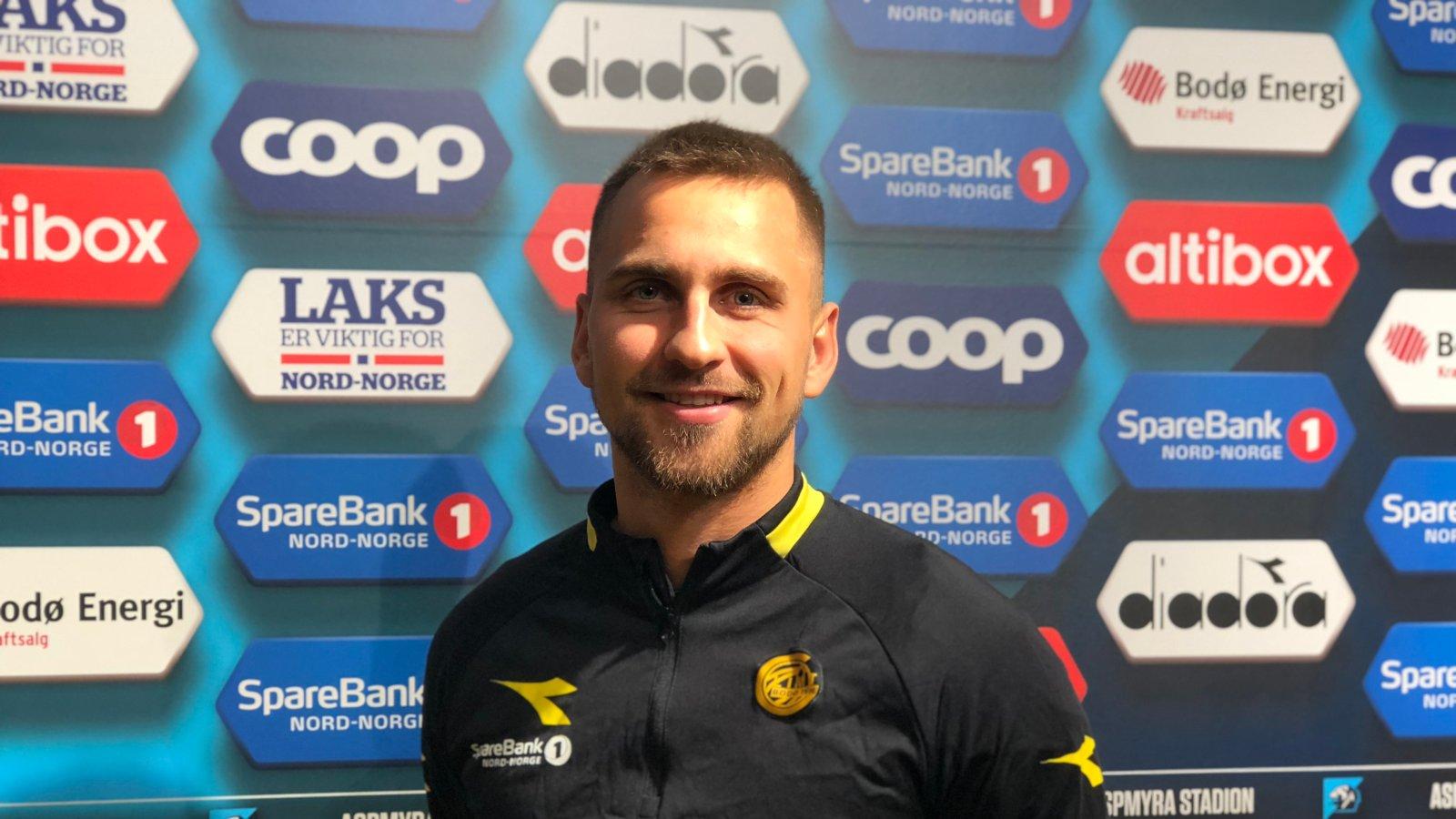 Oliver Sigurjónsson tilbake i Bodø.