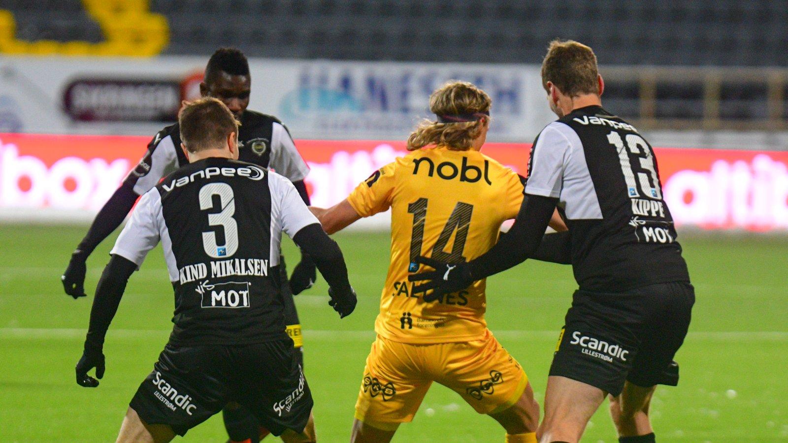 Ulrik Saltnes hjemme mot Lillestrøm.