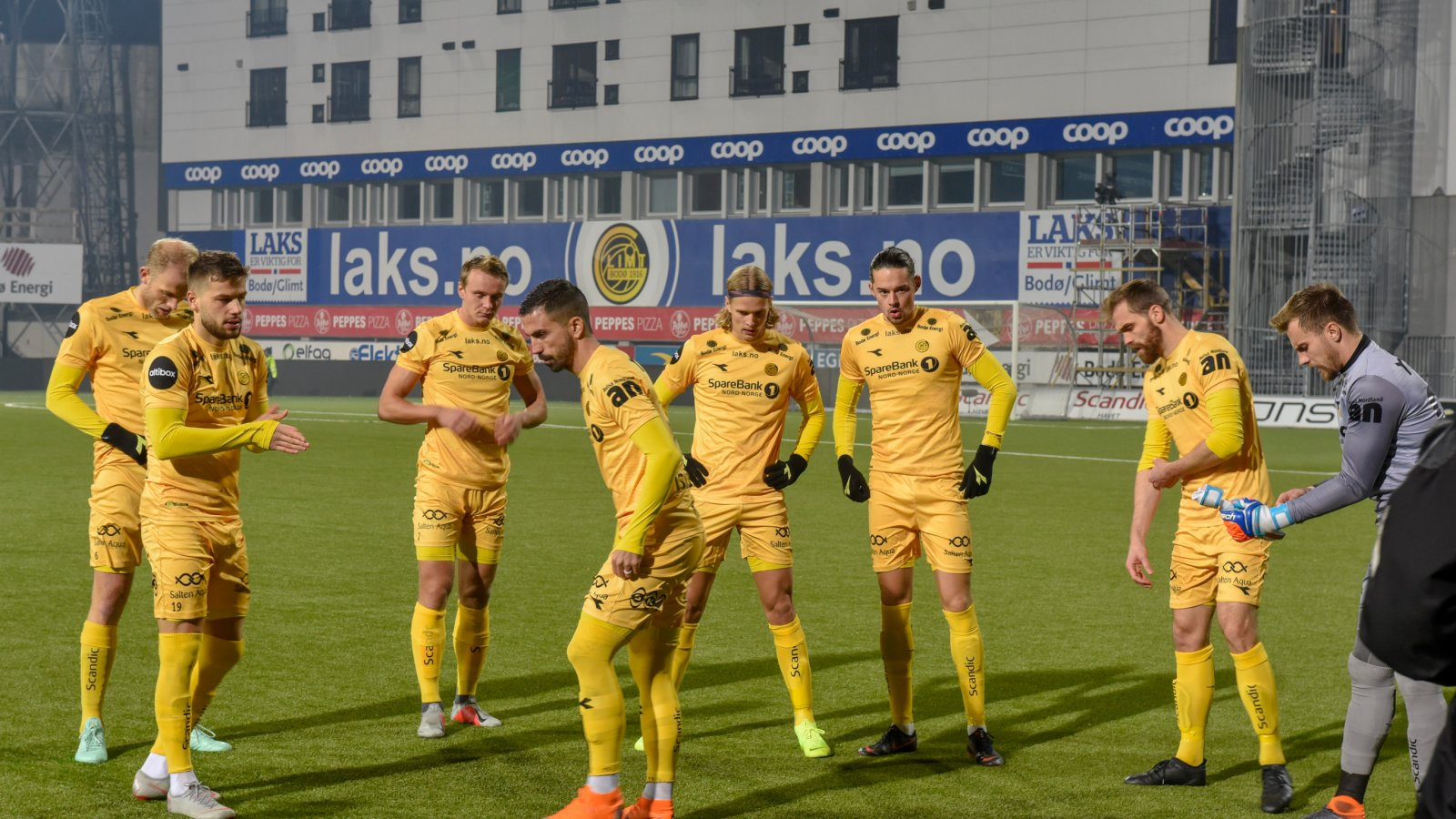 Bodø/Glimt møtte Stabæk til kamp på Aspmyra 28. oktober.