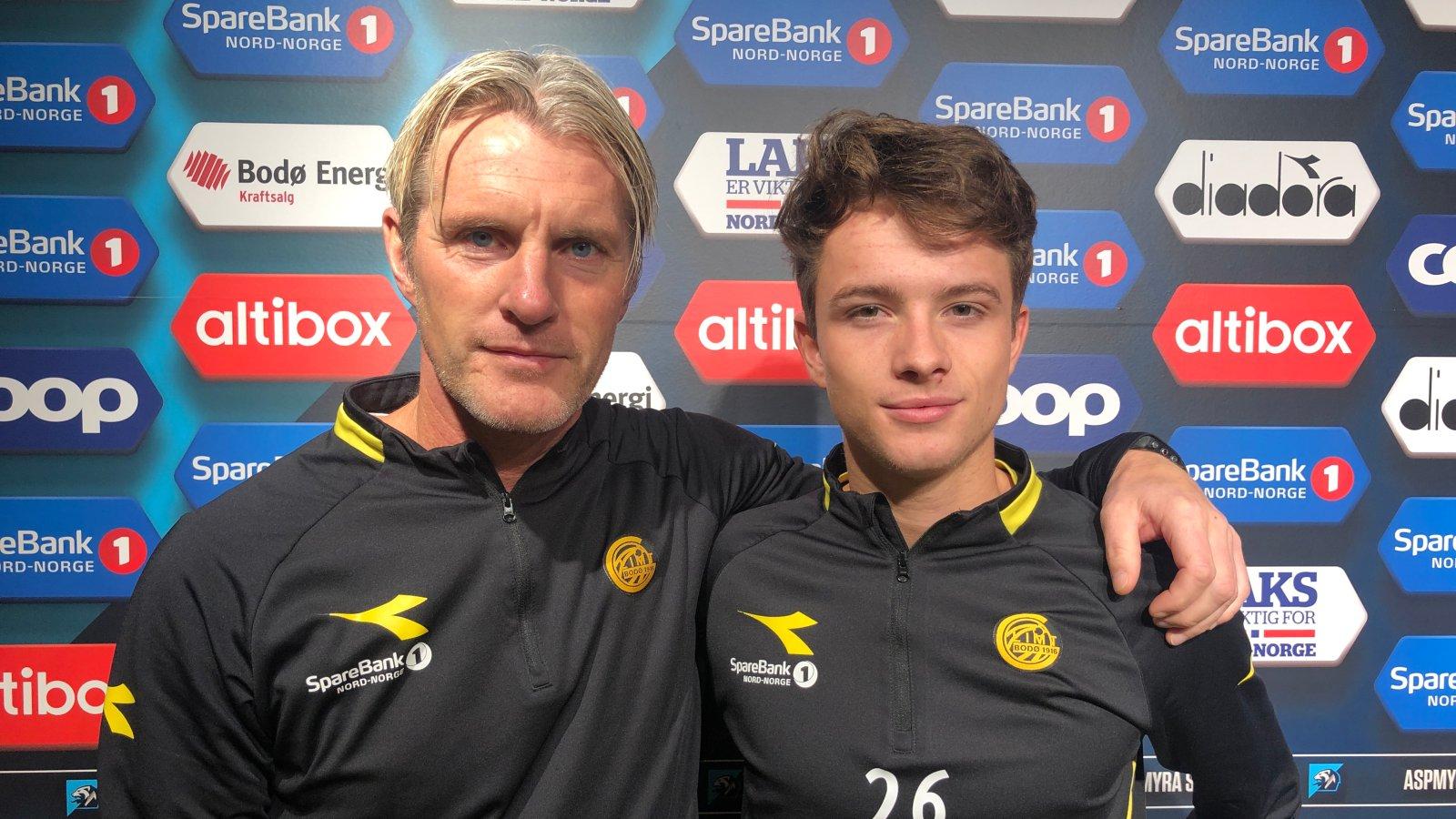Cato Hansen og Håkon Evjen.