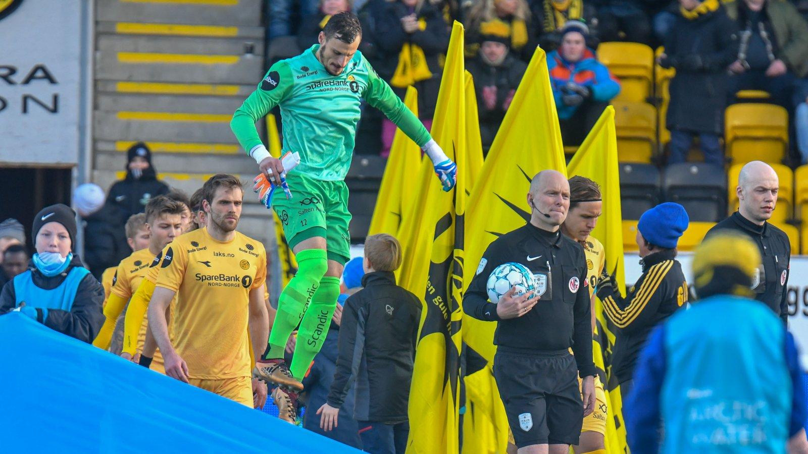 Popovic og Bodø/Glimt klar for kamp.